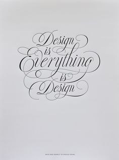 Design is everything.