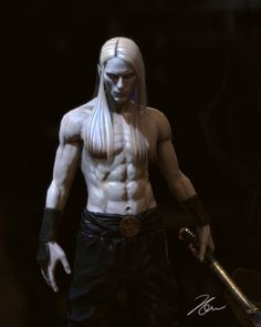Hellboy II: The Golden Army - prince Nuada by coquelicot23