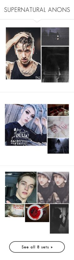 """SUPERNATURAL ANONS"" by sunshine-moonlight-babylove ❤ liked on Polyvore featuring beauty, Nexus, MANU, Alaïa, XOXO, Venom, men's fashion, menswear, interior and interiors"