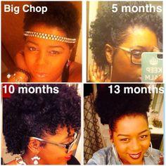 Natural Hair Growth! @asiacruz04 - Black Hair Information Community
