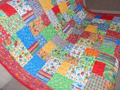 I spy with my little eye……. I Spy Quilt, Table Toppers, Quilt Making, A Table, It Is Finished, Colours, Quilts, Blanket, Fabric