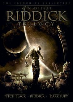 Riddick 1 - 2 - 3
