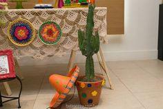 Inspire sua Festa ® | Blog Festa e Maternidade Mexican Party, Grad Parties, Planter Pots, Diy, Blog, Themed Parties, Kids Part, Frida Kahlo, Mexican