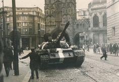 praha Prague Photos, Visit Prague, Political Events, Old Paintings, More Pictures, Czech Republic, Historical Photos, Warfare, Time Travel