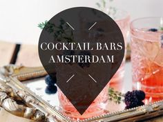 Looking for the best cocktail bars in Amsterdam? From chic to speakeasy, Your Little Black Book has put them in a row. Discover this and more hotspots >>