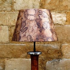Sail Away Antique Look Sailing Map Brown French Tapered Lightshade, stylish and sophisticated designs www.serendipityhomeinteriors.com