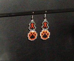 Against Animal Cruelty Awareness Earrings by TheCraftyCuban, $15.00