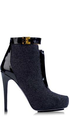 ゚☆゚ Burak Uyan Black Bootie ゚☆゚ #Shoes #Heels #Boots #Booties