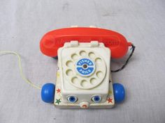 Remember this?  #FisherPrice chatty phone http://www.shopgoodwill.com/auctions/Vintage-Fisher-Price-Chatter-Phone-17189349.html