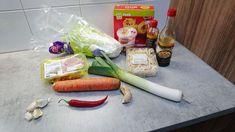Indonesische bami goreng ingredienten