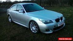 2008 BMW 535D M SPORT AUTO SILVER Spares or Repair #bmw #535dmsportauto #forsale #unitedkingdom