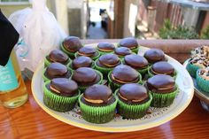 Tagalong Girl Scout Cookie Cupcakes Bash Parties