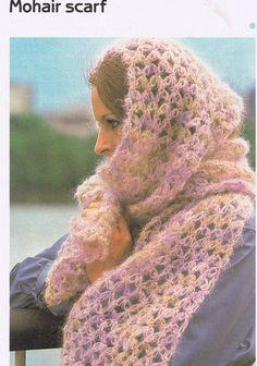 Solomon's knot scarf crochet easy pattern pdf by yarnaroundhook