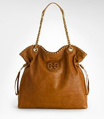 Tory Burch Caramel Leather Tote