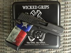 Wicked Grips recently released several new patterns of grips and gemstone inlaid grip screws. The set I received are made of aluminum with the Texas flag. This set has a somewhat worn look to them. The grips are very close to the same thickness as the SIG 938 factory grips. The new grip screws come …   Read More …