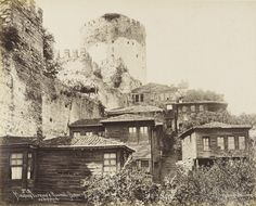 Historical Pictures, Once Upon A Time, Old Photos, Istanbul, Abandoned, Nostalgia, Outdoor, Painting, Art
