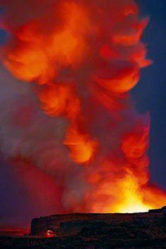 "Peter Lik's ""Spirit Rising"" Kilauea, Island of Hawaii"