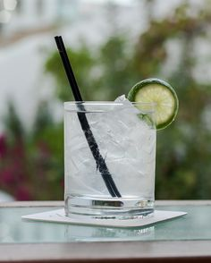Skinny Pina Colada: 1.25 oz 1800 Coconut Tequila; serve on the rocks with coconut water, garnish with lime wedge