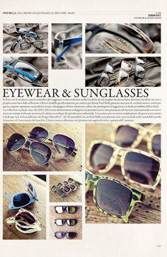 Eyewear  #magazine fall winter collection#fredmello #fredmello1982 #newyork #advcampaign#accessories#fallwinter13 #accessible luxury #cool #usa #mancollection