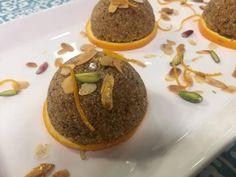 Gâteau de semoule au jus dorange façon tamina Cookie Bowls, Orange Confit, Jus D'orange, Flan, Pudding, Caramel, Bob, Kitchen, Arabic Sweets