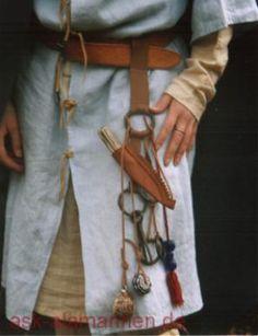 Viking Garb, Viking Reenactment, Viking Dress, Viking S, Viking Life, Medieval Belt, Medieval Costume, Medieval Clothing, Historical Clothing
