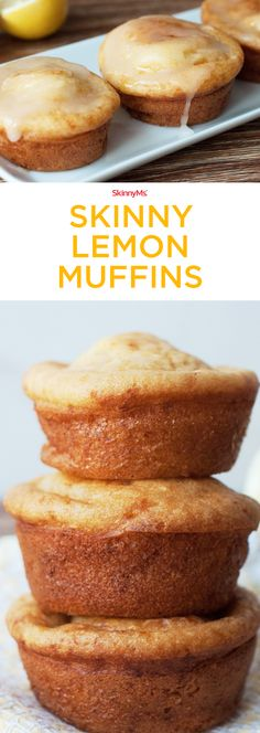 You can eat them any time of day�not just at breakfast! Give them to teachers as treats, serve them at tea parties or showers, or bring them to your next housewarming or holiday party. Source by skinnyms Gourmet Recipes, Low Carb Recipes, Dessert Recipes, Cooking Recipes, Desserts Menu, Holiday Desserts, Sweet Recipes, Easy Recipes, Lemon Muffins
