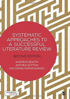 From 19.67:Systematic Approaches To A Successful Literature Review | Shopods.com