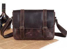 Hommes affaires sac /Messenger sac/Vintage sac /Retro sacs / sacs à main / Genuine Leather / / robe-vb154