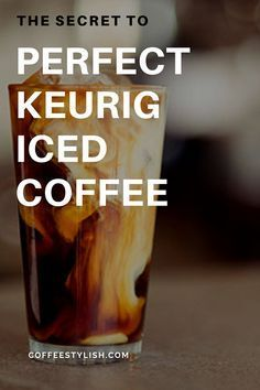 The secret to a perfect Keurig iced coffee is easier than you think. Coffee makes life easier. But, homemade coffee makes life…better. And if you have a Keurig coffee maker, there's really no need to spend any money on iced coffee. Homemade Iced Coffee, Iced Coffee At Home, Best Iced Coffee, Iced Coffee Drinks, Coffee Drink Recipes, Iced Coffee Keurig, Espresso Coffee, Coffee Coffee, Ninja Coffee