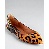 STEVEN BY STEVE MADDEN Flats - Eavan Pointy *want to find a vegan version -  these are made with FUR!