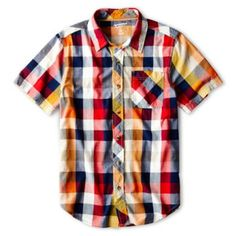 Arizona Short-Sleeve Woven Shirt - Boys 6-18 and Husky  found at @JCPenney