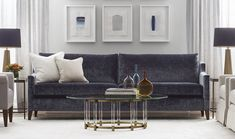 Mitchell Gold + Bob Williams: Classic Modern Home Furnishings Modern Furniture Stores, Mitchell Gold, Console Table, Home Furnishings, Love Seat, Upholstery, Bob, Couch, Contemporary