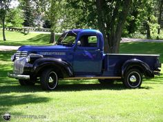 OLd Pickups | Photo of a 1946 Chevrolet Pickup (Old Blue)
