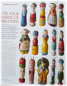 FRENCH KNITTING - TRICOTINS-PUNNICKEN-STRICKPUPPE by minoridesign, via Flickr