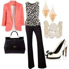 """Office Wear with a Pop"" by annabelee23 on   Polyvore"