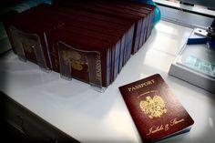 Vanessa's DIY Passport Destination Wedding Invitations (PIC HEAVY) | Weddingbee Photo Gallery