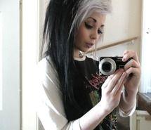 like the 2 tone hair