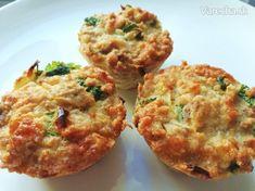 Zdravé tuniakové muffiny