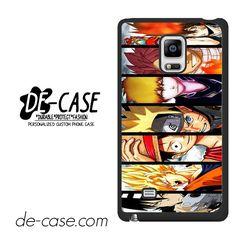 Naruto Son Goku Luffy Ichigo Vongola Natsu One Piece Bleach Fairy Tail Soul Eater Kid DEAL-7573 Samsung Phonecase Cover For Samsung Galaxy Note Edge