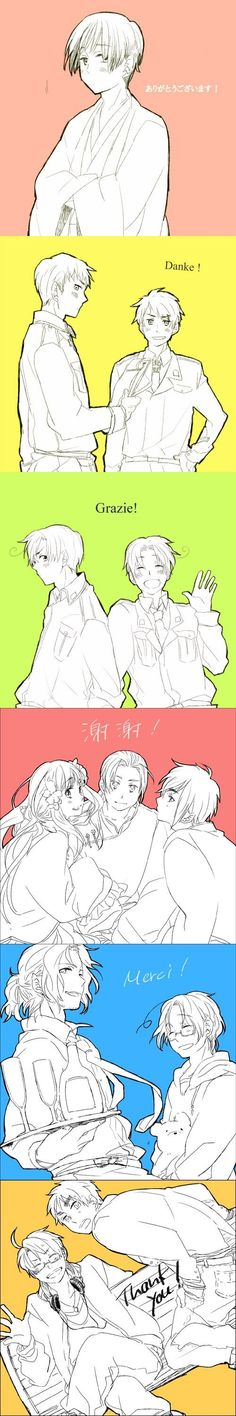 Hetalia It's awesome that I knew all of them!