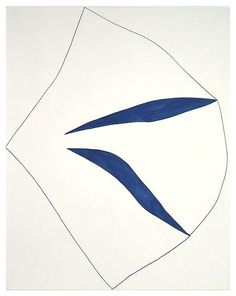 Ellsworth Kelly, Untitled, 1962, Graphite and ink on paper, 28 1/2 x 22 1/2 inches; 72 x 57 cm. Works in Exhibition - Matthew Marks Gallery