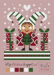 Мои творилки *** Aliolka design: Букашкин год Cross Stitch Angels, Xmas Cross Stitch, Cross Stitch Charts, Cross Stitching, Cross Stitch Embroidery, Embroidery Patterns, Cross Stitch Patterns, Christmas Paper Crafts, Christmas Ornaments To Make