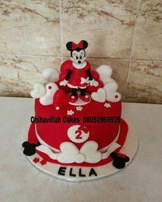 Minnie love cake by Chihavillah cakes