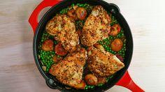 Crispy Chicken Vesuvio