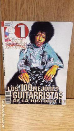 POPULAR 1. LOS 100 MEJORES GUITARRISTAS DE LA HISTORIA ( I ) REVISTA COMO NUEVA.