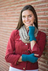 Kinvara #Cowl and #Mitt Set - from the Spring 2015 Issue of Love of #Knitting magazine