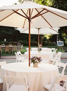 #outdoors, #umbrella  Photography: Judy Pak - www.judypak.com Floral Design: Terracotta Gardens - www.terracottahome.com Venue: De Seversky Mansion  - www.nyit.edu/deseversky/  Read More: http://www.stylemepretty.com/2014/05/12/summer-garden-wedding-in-new-york/