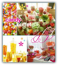 Graduation Party Taco Bar Menu | Candy Buffets start at $4.00 per person .The price will decrease ...