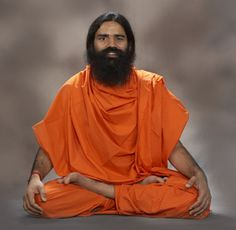 Bab Ramdev, Indian guru.