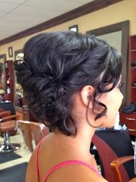 hair by Adrianne Tavarez updo hairstyle prom homecoming Sweet 16 Hairstyles, Fancy Hairstyles, Wedding Hairstyles, Hc Hair, Homecoming Hairstyles, Homecoming Updo, Hair Upstyles, Hair Dos, Prom Hair